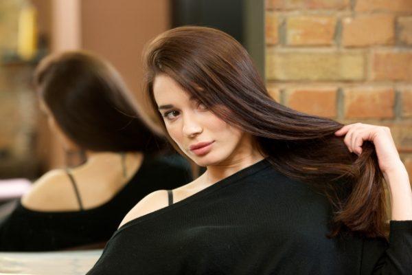 サラサラな髪の毛